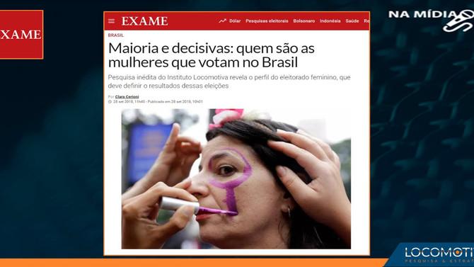 EXAME: Maioria e decisivas: quem são as mulheres que votam no Brasil