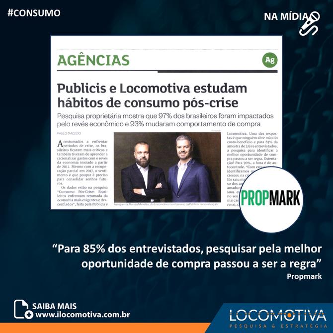 Propmark: Instituto Locomotiva e Publicis estudam hábitos de consumo pós-crise