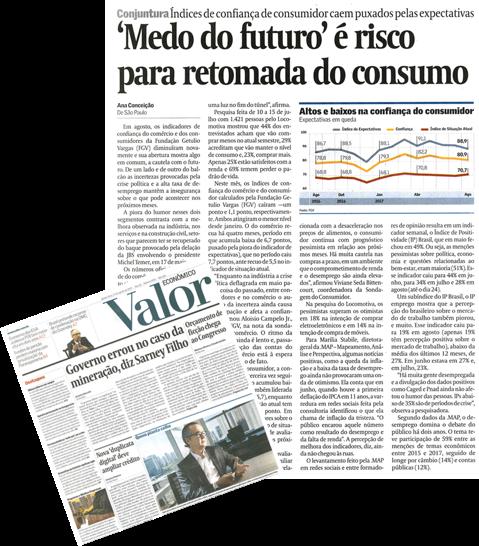 """""""Medo do Futuro"""" é risco para retomada do consumo"""