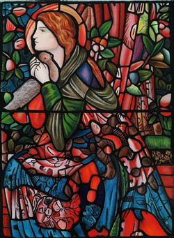 The Annunciation, after Burne Jones