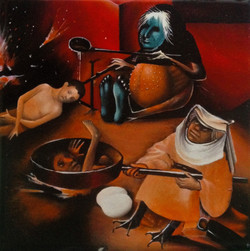 The Cooks, after Bosch