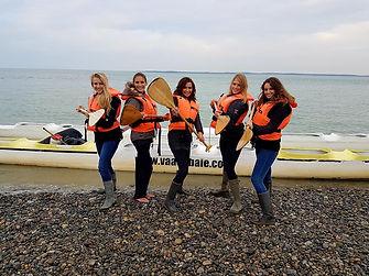 enterrement vie jeune fille picardie baie de somme traversée phoques activité originale kayak char