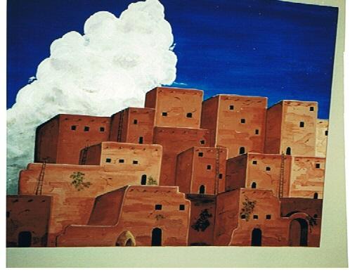 GicaArt acrylic - Native American