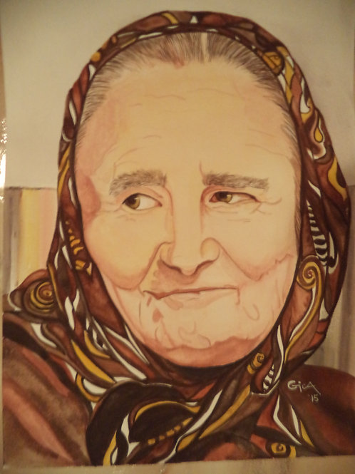 """""""Bunicutza"""" (Grandma in Romanian)"""