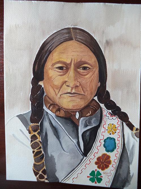 """Sitting Bull - Lakota Sioux"""