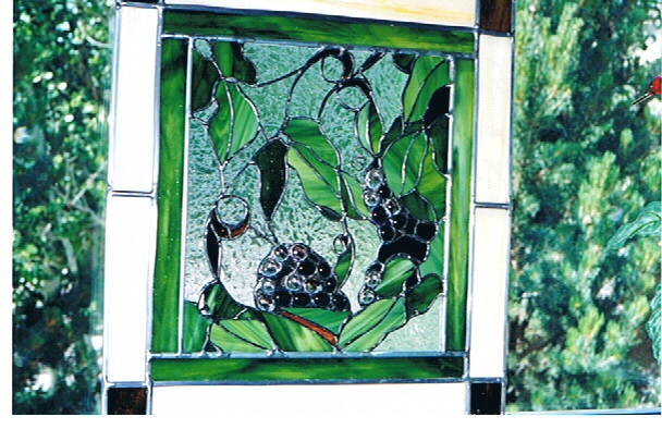 GicaArt stained glass art piece.