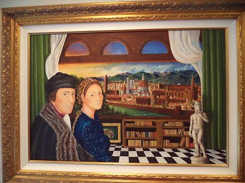 """""""Tramonto de Firenze"""" (Florence Sunset)"""