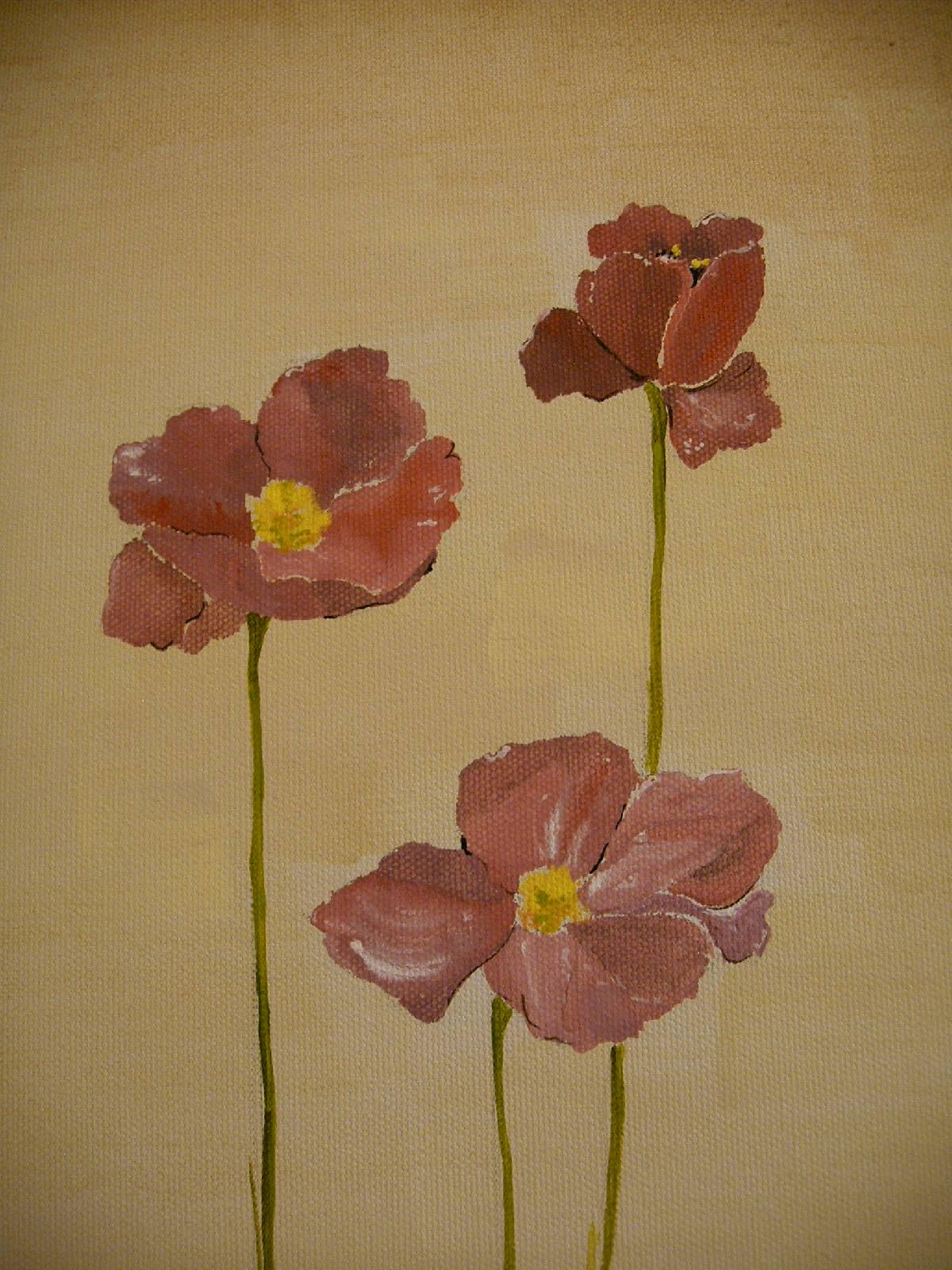 GicaArt Watercolor Flowers