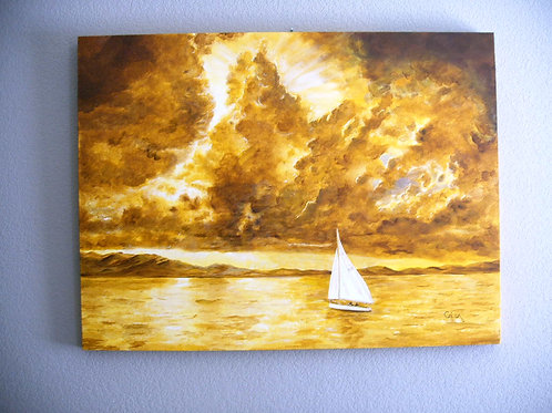 """Golden Sky, Golden Water"""
