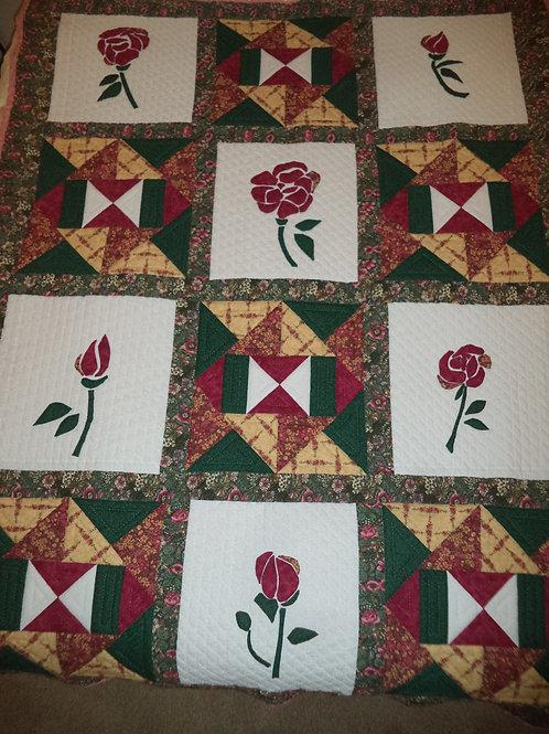 """""""JKRose""""Handmade Quilt"""