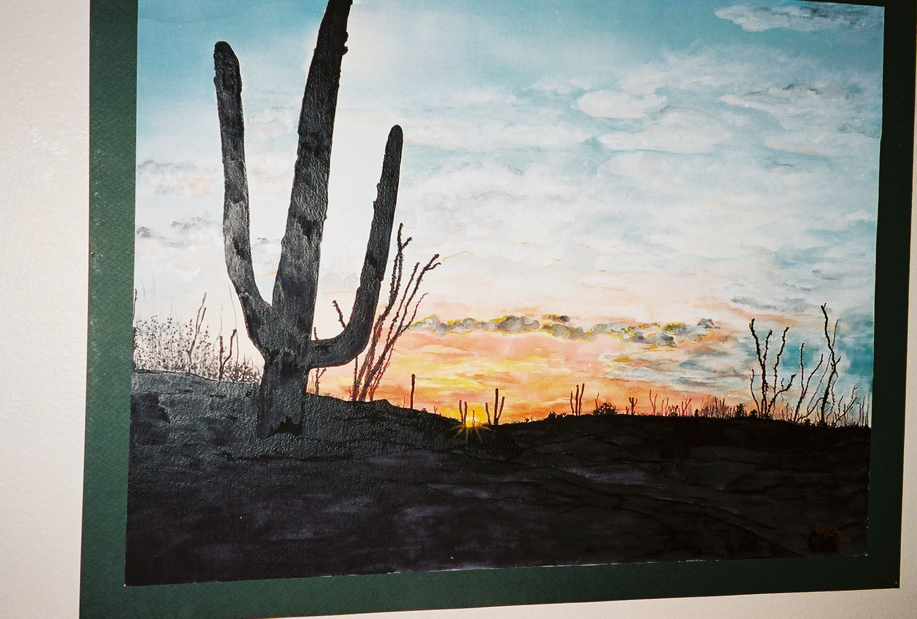 GicaArt Southwest Art Watercolor.