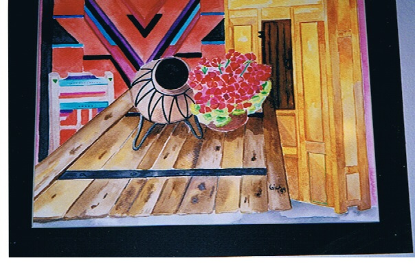 Original GicaArt Watercolor