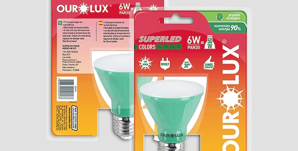 Iluminação SuperLED Par20 Cultivo Indoor Ourolux