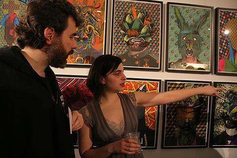 2010 - Expo Aller_Retour Dessins d'Elzo.