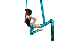 AERIAL SILKS GOLDEN HEART PERFORMING ARTS FAIRBANKS ALASKA