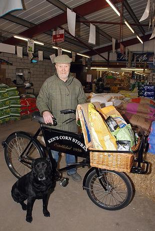 Photo of Ken's bicycle