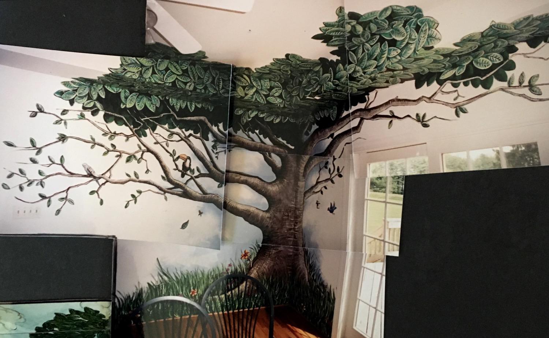 Mural tree