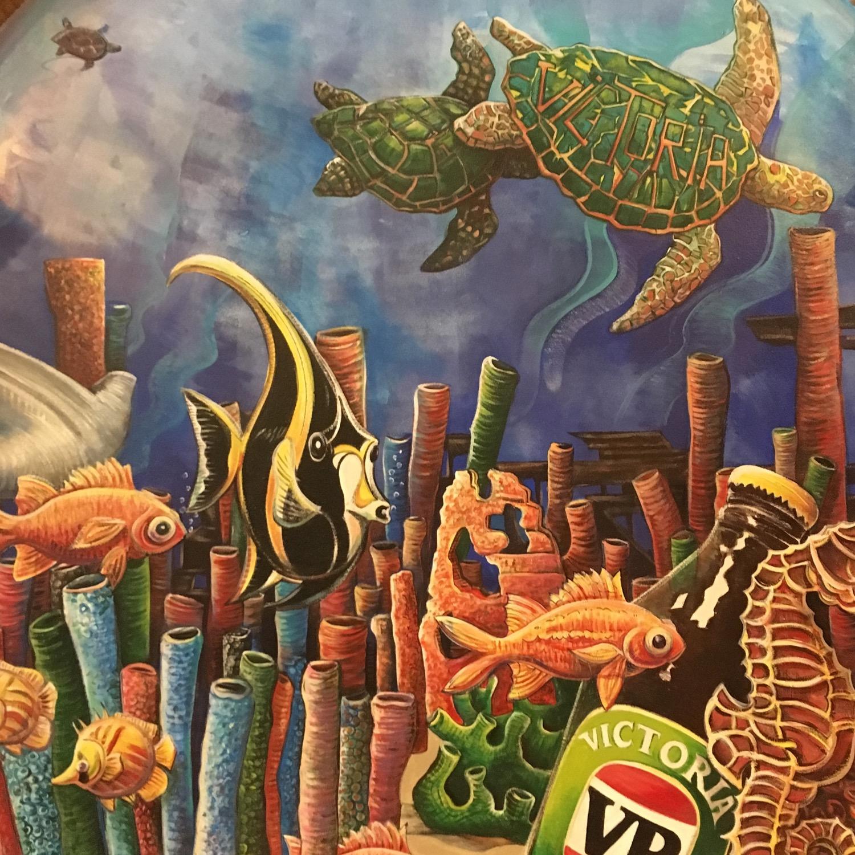 Under water mural 2016