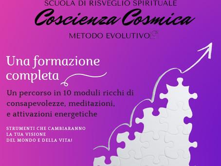 Scuola di risveglio spirituale COSCIENZA COSMICA