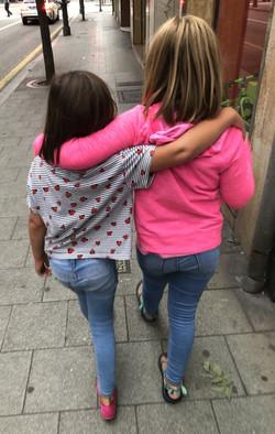 Walking around in Gijón