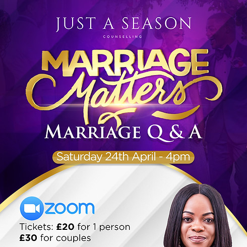 Marriage Matters: Q&A with PV