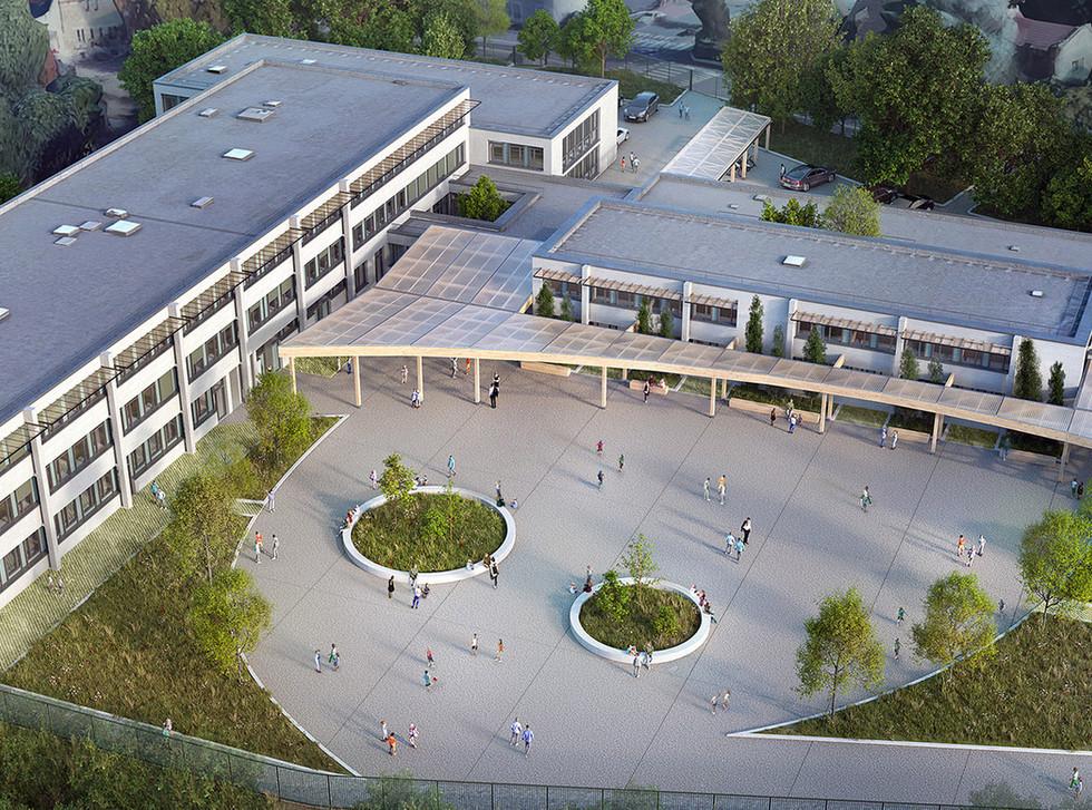 Restructuration et extension du collège Pierre de Ronsard