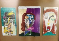 Face Landscape Collage - Envelopes 1