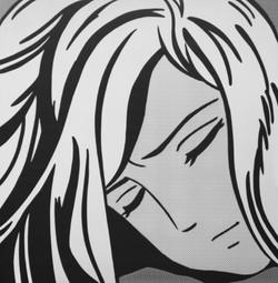 Sleeping Girl by Hiroshi Mori