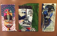 Face Landscape Collage - Envelopes 2