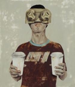 雜貨鋪.A - 咖啡和杯架 by 時永駿