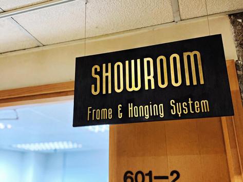 畫框及掛畫配件陳列室   Frame and hanging system showroom