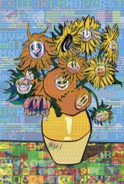 Sunflowers by Hiroshi Mori