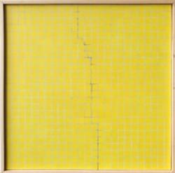 Untitled Yellow by Wong Chak Hung