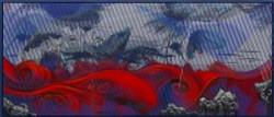 Flaming Lotus in Scarlet Waves by Na