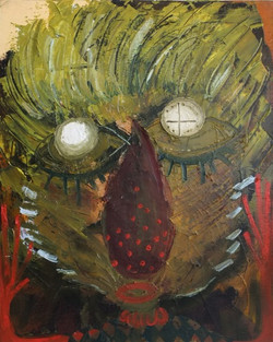 Clown Dream by Wong Wing Tong