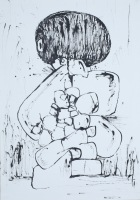 Untitled drawing No.5 by Tetsu Taked