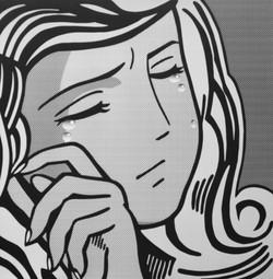 Crying Girl #3 by Hiroshi Mori