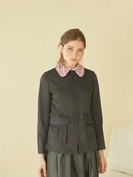Tweed-embellished jacket