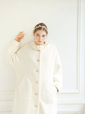 Organic cotton coat