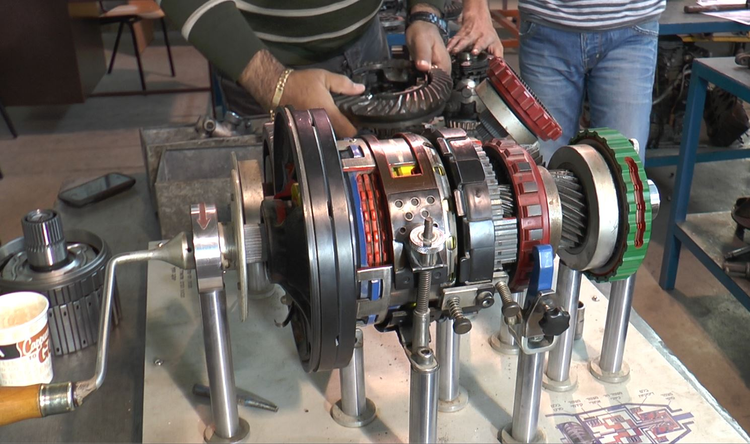 Dismantling Motors