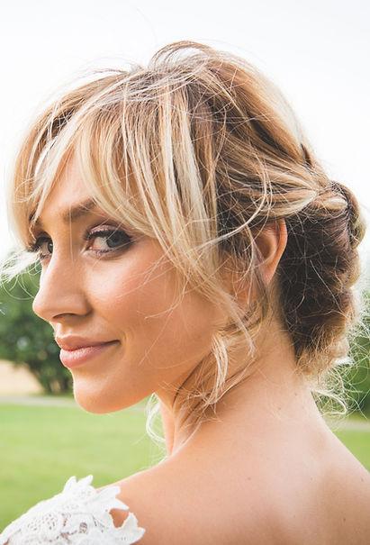Rebecca Chantrell Wedding photo shoot Makeup and Hair