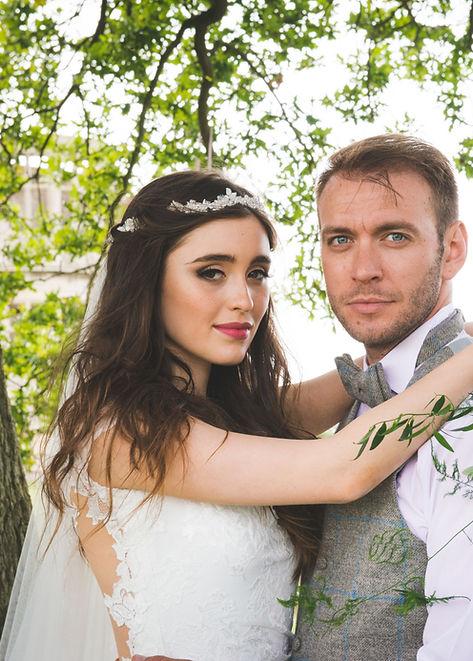 Rebecca Chantrell Wedding Makeup and Hair Lyvedon New Bield