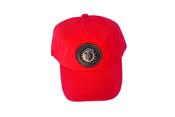 Aboriginal Baseball Cap Red