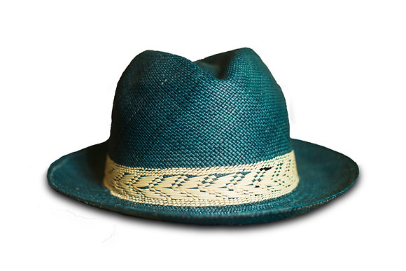 Panama hat blue 30%OFF