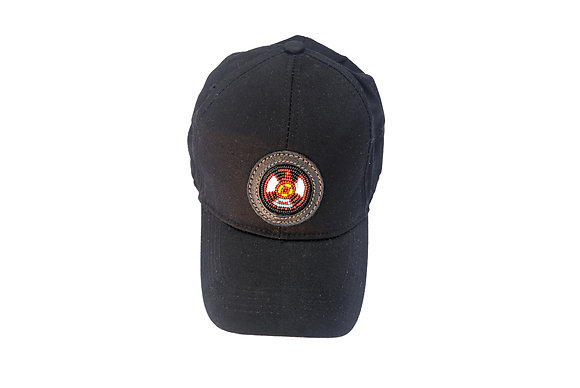Aboriginal Baseball Cap Black