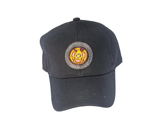 Aboriginal Baseball Cap Black