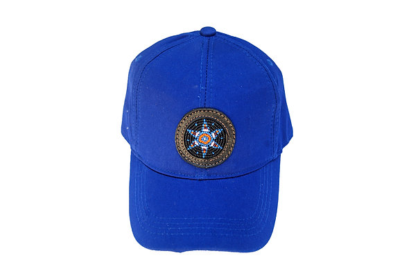 Aboriginal Baseball Cap Blue