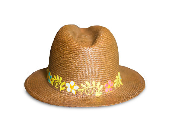 Panama hat brown 30%OFF