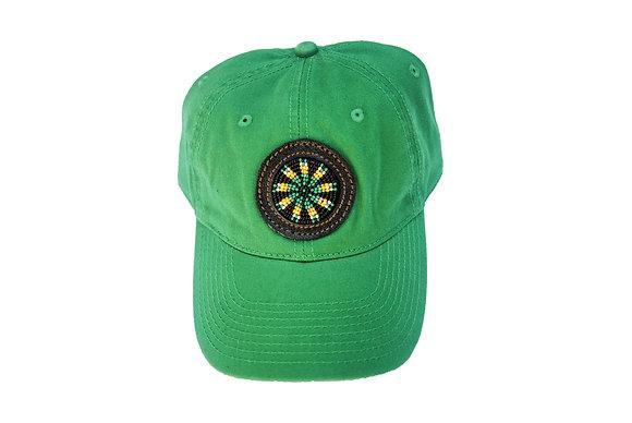 Aboriginal Baseball Cap Green