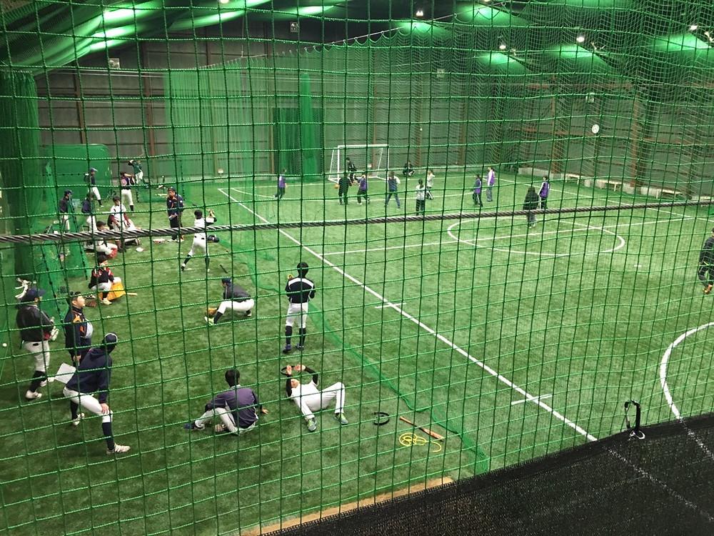 フットサル 野球 ブリスフィールド東大阪